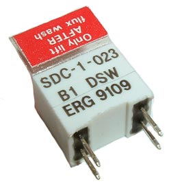 1 Position DIL Changeover Switch ERG SDC-1-023