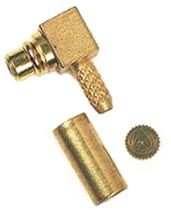 908-43200 Angle Plug RA Cable Connector Amphenol