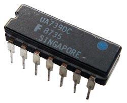 UA739DC Dual Op Amp Fairchild