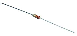 1/4W  220 ohm  5% Carbon Film Resistor