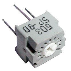 50K ohm Trimmer Potentiometer Bi Technologies 25PR50K