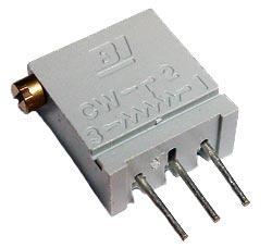 50K ohm Trim Pot Cermet Bi Technologies 67XR50K