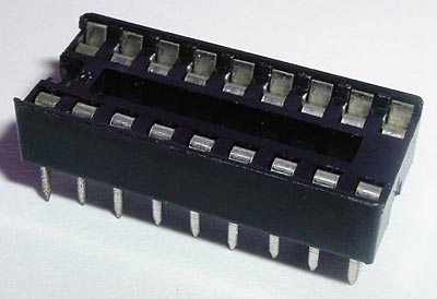 18 Pin IC Socket DIP Open
