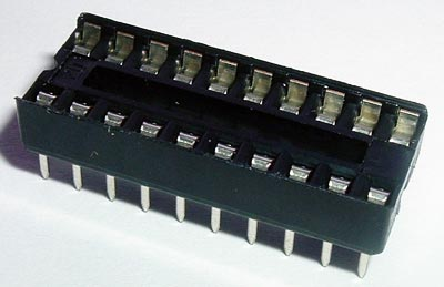 20 Pin IC Socket Open