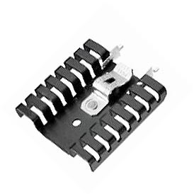 TO220 Heat Sink with Clip Thermalloy 7022B-TC1-MT