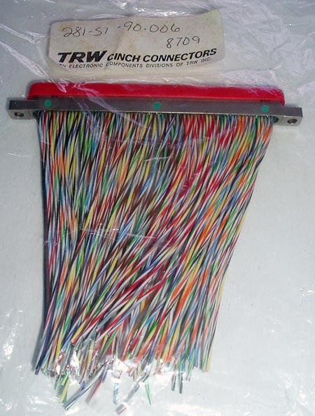 281-S1-90-006 DMEB 1-128S6E5-3.0 Cinch Connector TRW