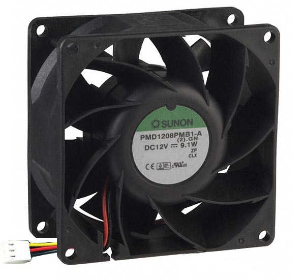 12V 760mA DC Brushless Fan Sunon PMD1208PMB1-A