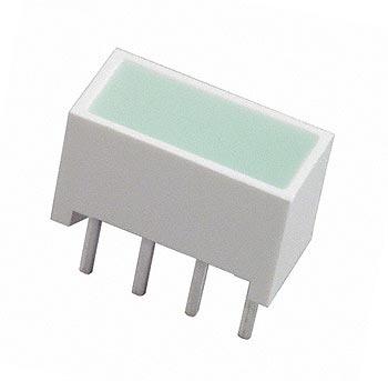 Rectangle LED Bar Module Green Hewlett Packard HLMP-2500