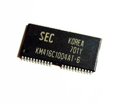 KM416C1004AT-6 CMOS IC Samsung