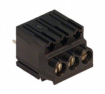 3 Position 5mm PCB Terminal Block Weidmuller 169715