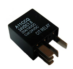 20A  24VDC SPDT Relay CIT A11CCQ24VDC1.5
