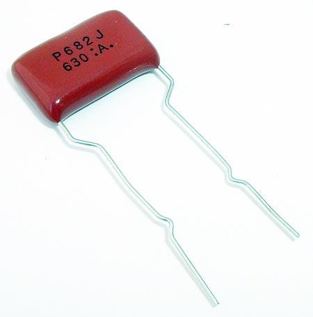 0.0068uF 630V Radial Film Capacitor Panasonic ECQP6682JU