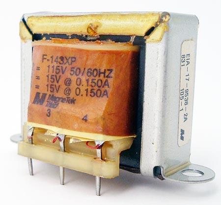 F-143XP 300mA Isolation Power Transformer MagneTek