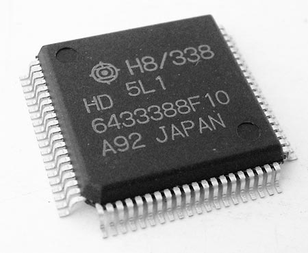 HD6433388F10 8-Bit Microcontroller IC Hitachi