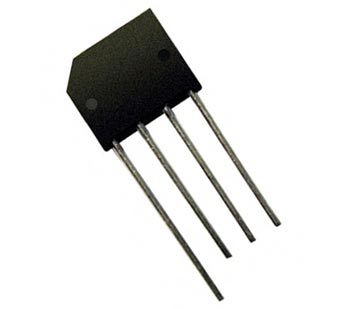 4A 400V Bridge Rectifier Diodes Inc RS404L