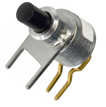 Pushbutton Switch Right Angle 150mA 39-501BLK Grayhill