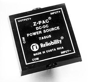 7A5U5 DC DC Z-PAC Converter Reliability