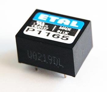 P1165 Low Profile Line Matching Transformer Etal
