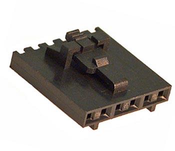 50-57-9406 6 Circuit Crimp Housing Connector Molex