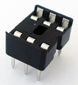 6 Pin IC Socket Open Frame