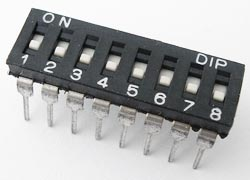 8 Position Dip Switch ALCO