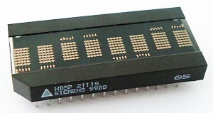 8 Character 5 x 7 Dot Matrix Parallel Input Display Siemens HDSP2111S