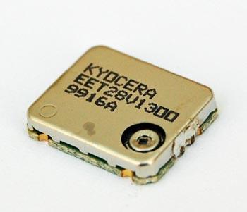 13.00MHz SMT Crystal Clock Oscillator Kyocera KT12EET28V-13.00M-TA