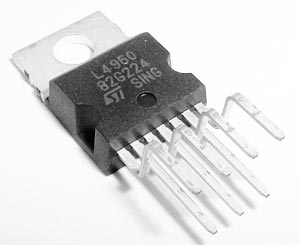 L4960 2.5A Power Switching Regulator IC ST Microelectronics