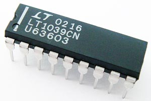 LT1039CN RS232 Driver Receiver with Shutdown IC Linear Tech