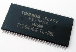 TC554161FTL-85L SRAM CMOS IC Toshiba