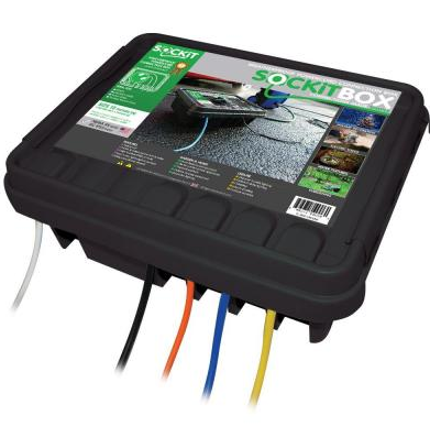 Sockit-box Large Weatherproof Electrical Connection Box Indoor Outdoor