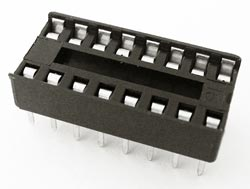 16 Pin IC Socket Open Frame