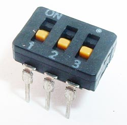3 Position DIP Switch Alco