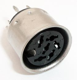 6 Pin Din Circular Socket