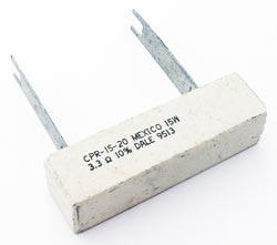 15W 3.3 ohm 10% Sandblock Power Wirewound Resistor CPR-15-20