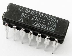 JM38510/05001BCA CMOS Quad 2 Input NAND Gate IC National Semiconductor