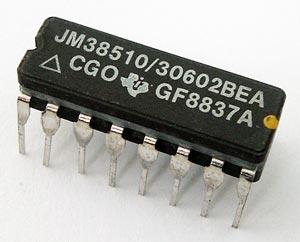 JM38510/30602BEA 4 Bit Parallel Access Shift Register IC TI