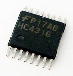 74HC431 MM74HC431 6MTCX Multiplexer IC Fairchild