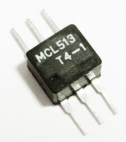 4 ohm 0.2-350MHz RF Transformer T4-1