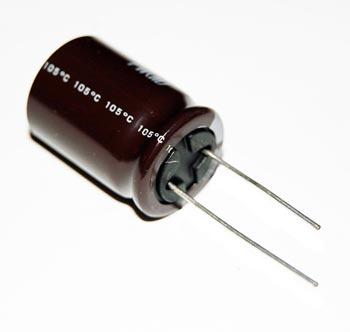 3300uF 25V Radial Electrolytic Capacitor Nichicon UPW1E332MHD6