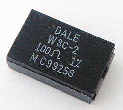 Power Wirewound Resistor SMT 2W 100 ohm WSC-2