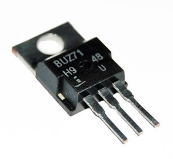 BUZ71 14A 50V MosFET Transistor N-Channel Intersil Harris