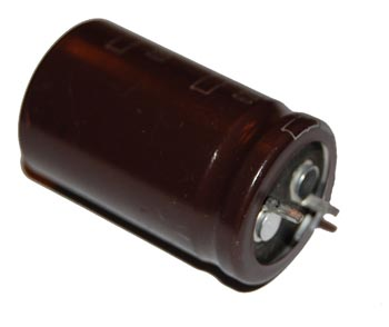 2200uF 63V Radial Snap In Electrolytic Capacitor United Chemi Con KMH63VN222M22X35T2