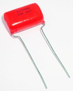 0.22uF .22uF 400V 10% Orange Drop Capacitor Sprague 225P
