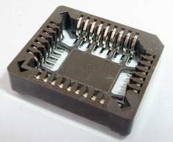 32 Pin PLCC IC Socket  Surface Mount Burndy