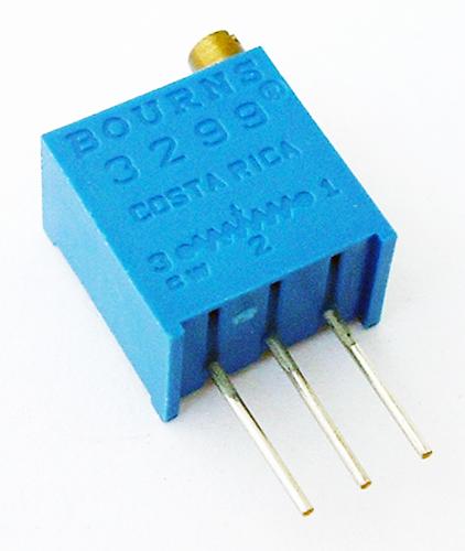 10K Ohm 0.5W Cermet Trim Potentiometer Bourns 3299W-1-103