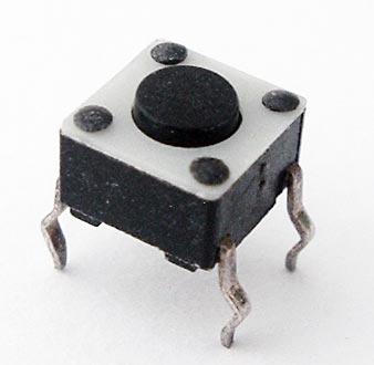 Tactile Switch 12V 6mm Alco FSM2J
