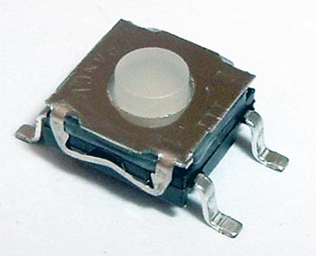 Tact Switch Momentary  SPST Surface Mount