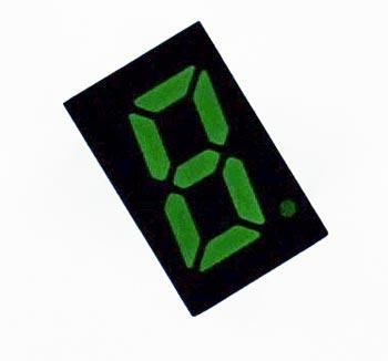 7 Segment LED Numeric Display Green Rohm LA-301MB
