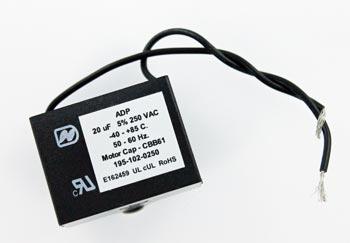 20uF 250 VAC Metallized Polypropylene Motor Capacitor ADP250M206J